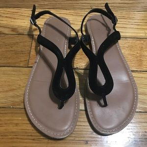 Brash Wishbone Thong sandals 8.5